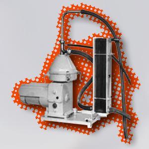 Сепаратор - молокоочиститель ОМ-1А (Установка охолодитель)