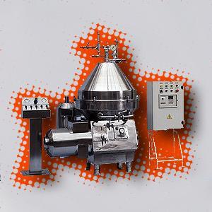 Сепаратор - бактофуга Ж5-Плава-ОБ-5