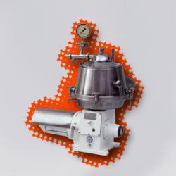 Сепаратор для высокожирных сливок Ж5-ОВРП-0,15М