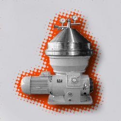 Сепаратор для очистки сыворотки Ж5-ОХ2-С